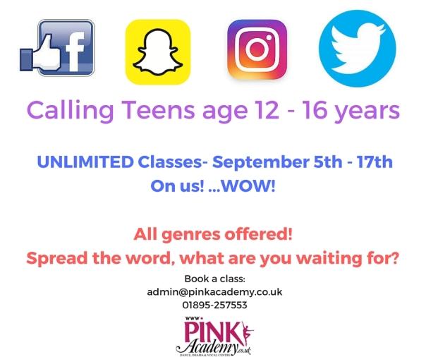 Calling Teens age 12 - 16 years (1)