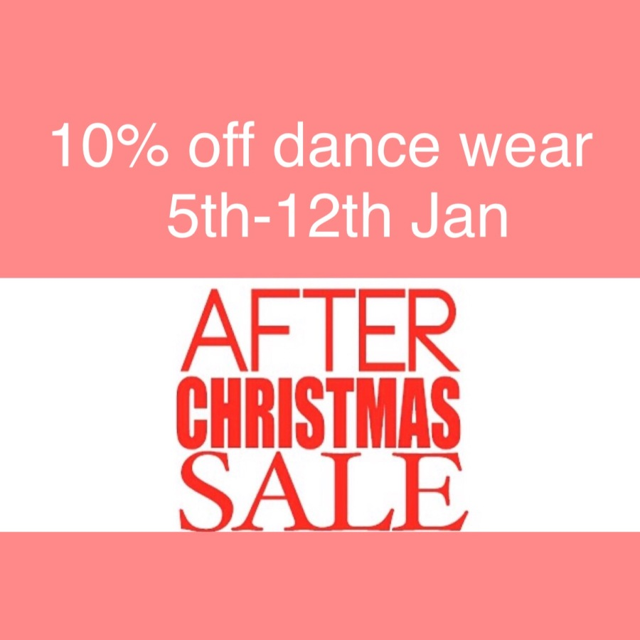 dancewear sale Jan 2015