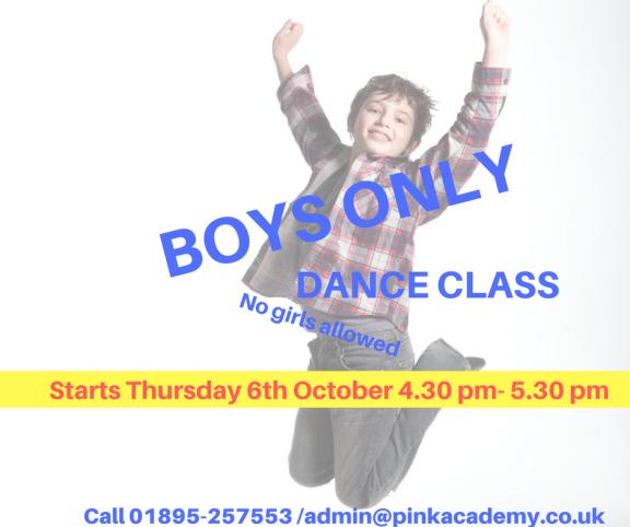 BOYS ONLY CLASS