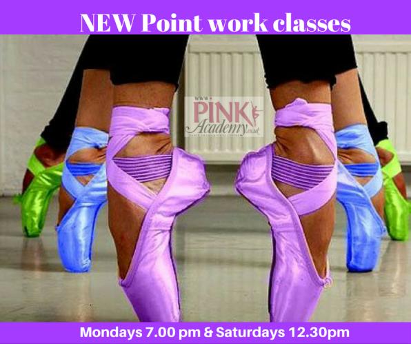 Point work classes held weekly